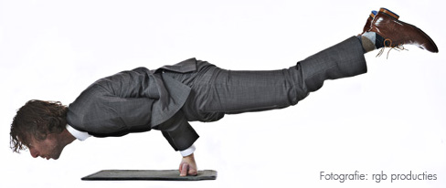 Jerome Wehrens in balance